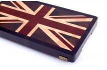 """Union Jack"" end grain cutting board"