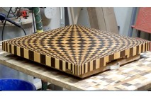 3D end gran cutting board #13