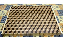 3D end grain cutting board #2