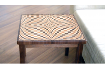 "A ""Wave"" coffee table"