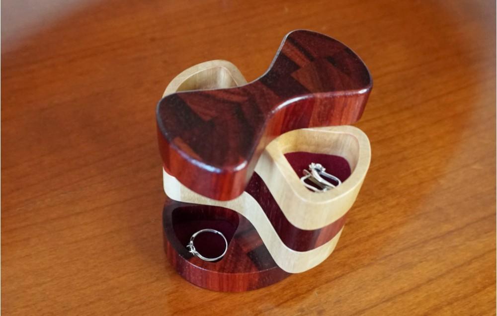 Поворотная торцевая шкатулка MTM-D0127