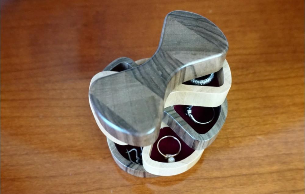 Поворотная торцевая шкатулка MTM-D0128