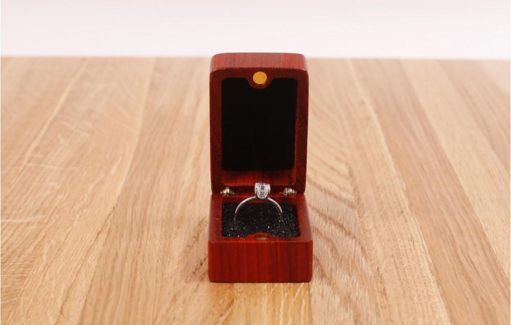 Торцевая шкатулка для кольца MTM-D0132
