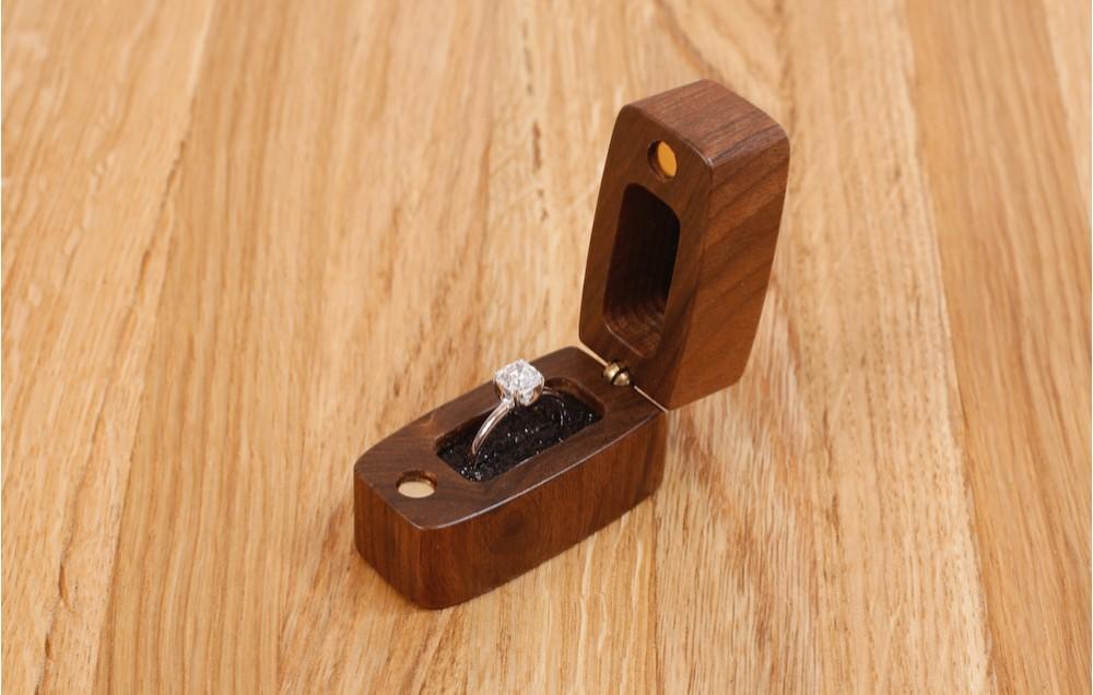 Торцевая шкатулка для кольца MTM-D0137