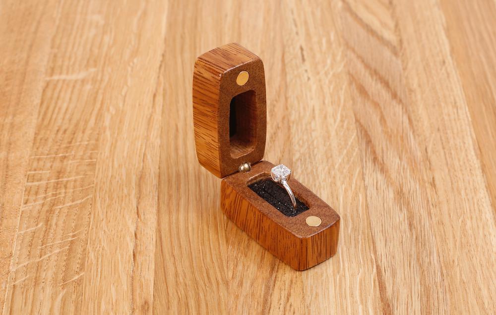 Торцевая шкатулка для кольца MTM-D0138