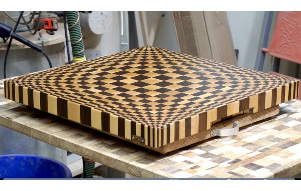 3D end gran cutting board #13