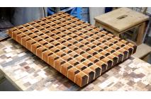 3D end gran cutting board #15