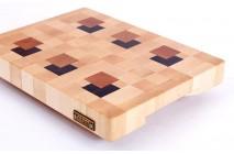 A 3D end grain cutting board #7