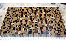 Chaotic pattern end grain cutting board #2