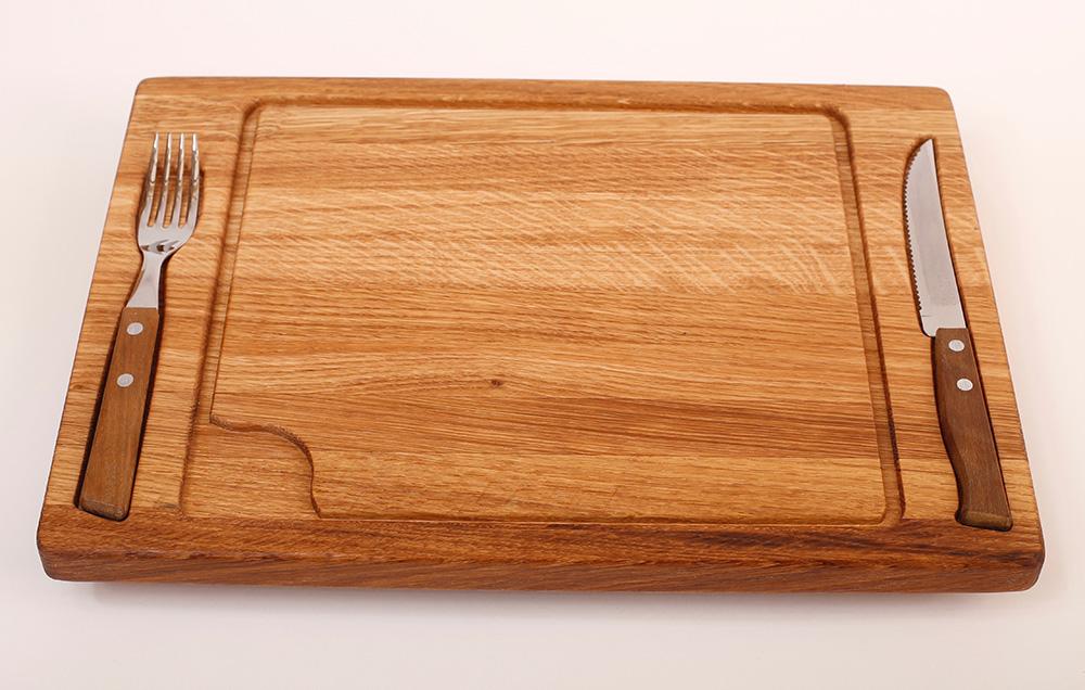 Доска для стейка с приборами MTM-LGCB0041